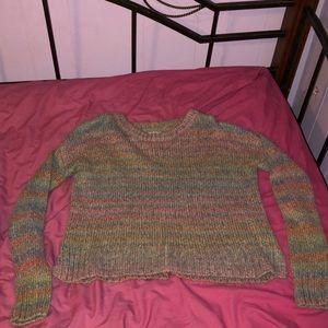 Tops - rainbow sweater